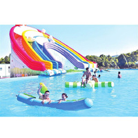 inflatable water slide inflatable pool inflatable water combination fun inflatable water park