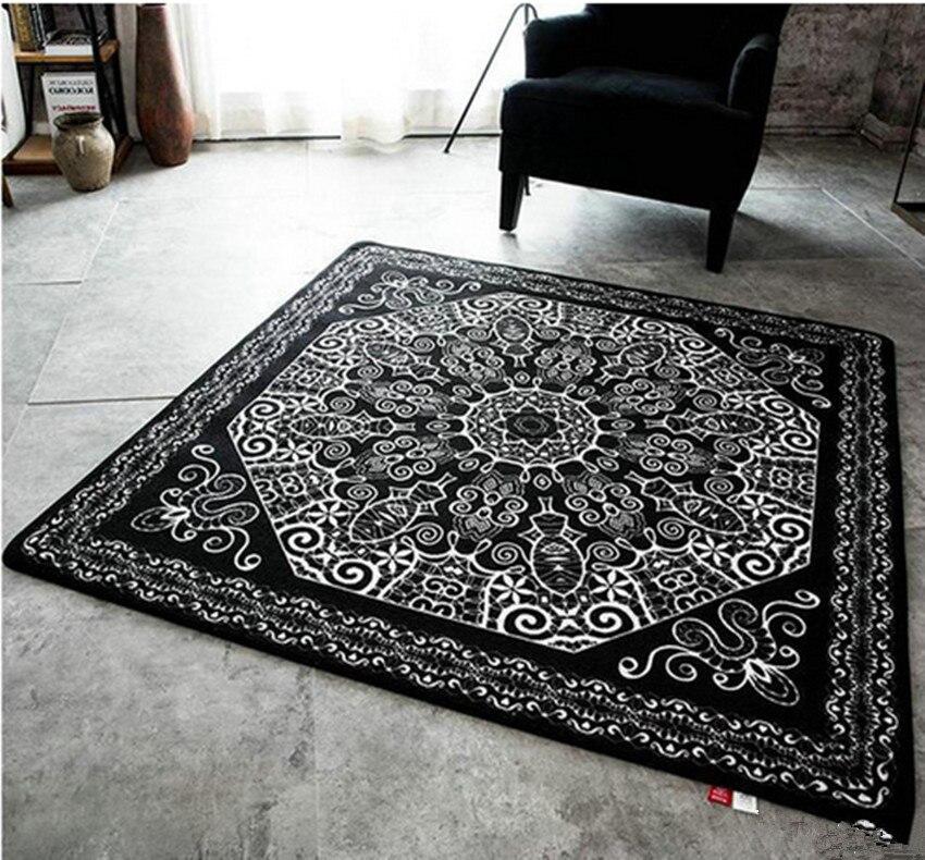 acquista all'ingrosso online nero tappeto persiano da grossisti