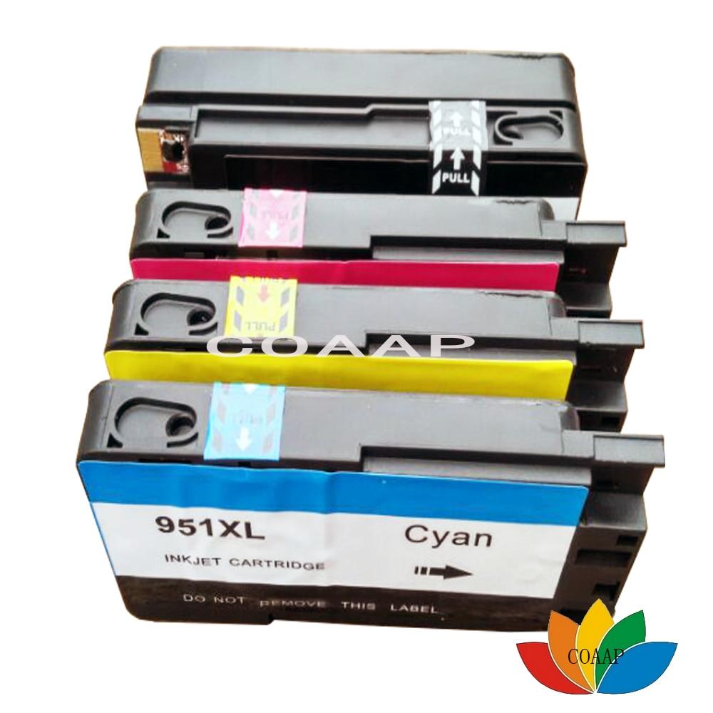 خرطوشة طباعة 4 حزم متوافقة لطابعة HP 950 - مكتب الالكترونيات