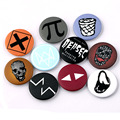 OURISM Watch Dogs 2 vintage brooch Round brooches for women badges bijouterie Men Metal Pins new Year gifts Party Bijoux