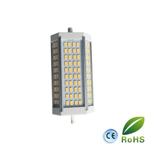 Image 2 - Yüksek güç 35w LED R7S ışık 135mm kısılabilir R7S lamba soğutma fanı J135 R7s ampul yerine 350w halojen lamba AC85 265V