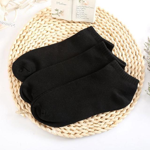 20Pcs=10Pair Solid Mesh Men's Invisible Ankle Socks HOT SALE 4
