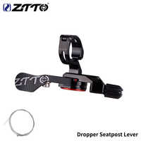 ZTTO MTB Dropper Post Lever Seatpost Dropper Bike Adjust Seat Post Drop Mechanical Remote Control Lever Universal Shifter Style