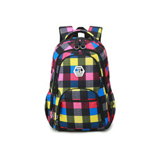 Новый цветок Водонепроницаемый Оксфорд ткань плечи рюкзак на плечо девушки жира в духе колледжа тенденции моды дорожная сумка