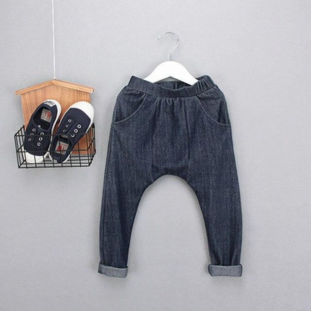 Дети шаровары мальчики и девочки брюки мальчик брюки pantalones джинсы дети брюки мальчики одежда младенцы тёплый брюки