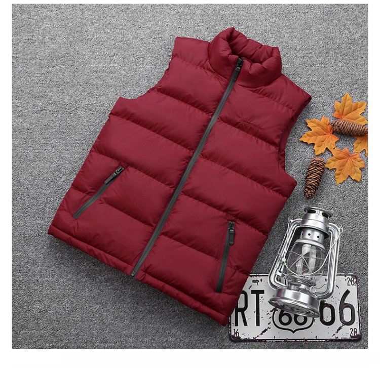 Tops red 6XL 8XL Winter Causal Men Vest Thicken Warm Hooded Waistcoat Male Sleeveless Jacket Outerwear Hat Detachable Plus Size