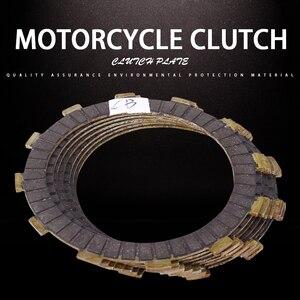 1 Set 6 Pcs Clutch Disc Friction Plates For Honda CB400 VTEC400 CB-1 CB750 CB600F CB400SF CB400AD CB400F CB400S CB400SA CB400SAD(China)