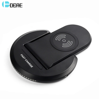 DCAE Qi Wireless Charger For IPhone X 8 Plus Fast Wireless Charger For Samsung Galaxy Note