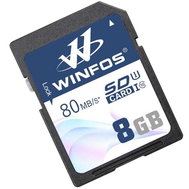 Winfos SD Memory Card 128gb 64gb 32gb class 10 sd card 8gb 16gb Transflash SD HC
