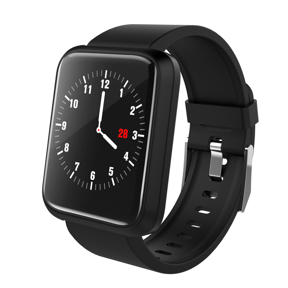 Smart Bracelet USB Charging With Heart Rate Monitor Smart Watch Men for Android iOS Sport Watch Waterproof Pedometer Watch