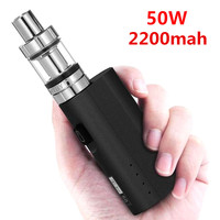 Sub Two Original E Cigarette HT 50 Mod Kit Vaporizer 2 0ml Atomizer 2200mah Box Vaporizer