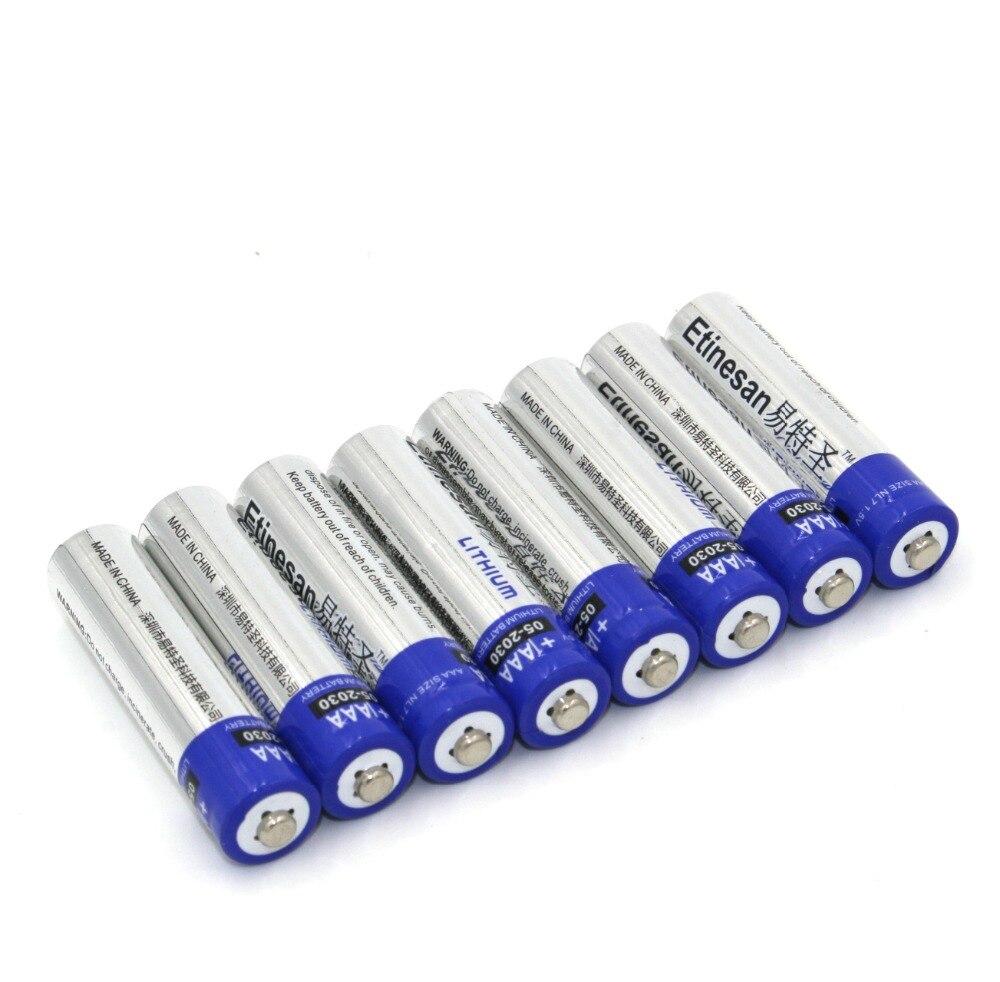 Baterias Secas poderosas pilhas aa de lítio Marca : Etinesan