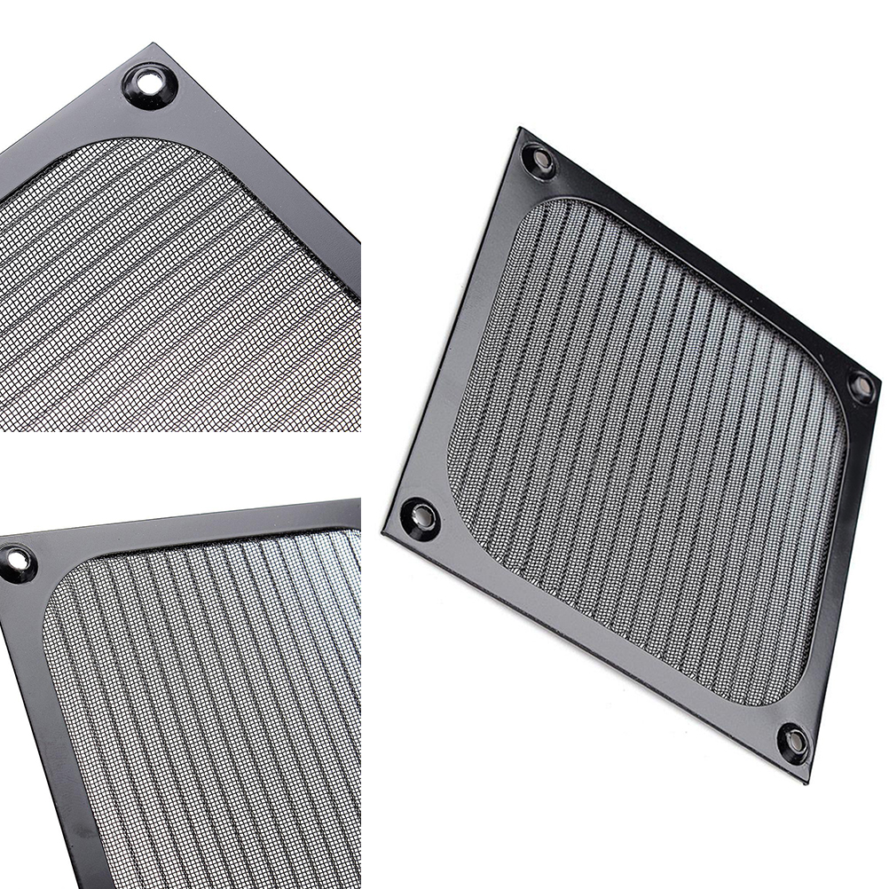 Image 4 - 120mm PC Computer Fan Cooling Dustproof Dust Filter Case Aluminum Grill Guard
