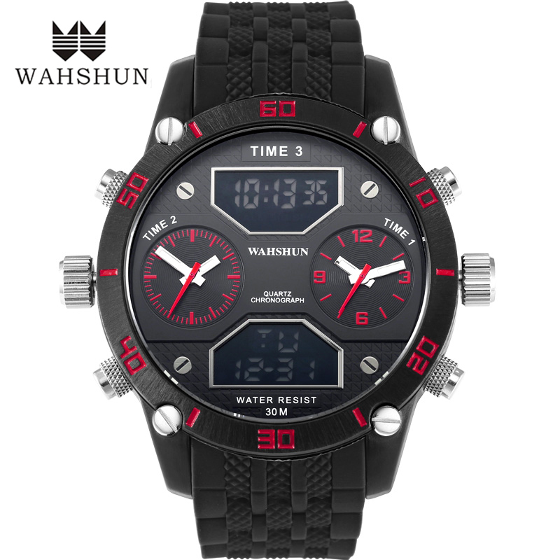 Fashion Men Sports Watches Waterproof 100m Outdoor Fun Digital Alloy Watch Swimming Diving Wristwatch Reloj Hombre Montre Homme ezon fashion mens women digital watches montre waterproof 30m digital dual time stopwatch outdoor sport watch reloj hombre l008