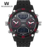 Fashion Men Sports Watches Waterproof 100m Outdoor Fun Digital Alloy Watch Swimming Diving Wristwatch Reloj Hombre Montre Homme