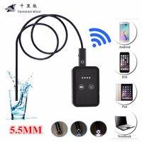 10M 15M 20M WiFi Endoscope Borescope 5 5mm USB Endoscope Inspection Camera 0 3MP 30M WIFI