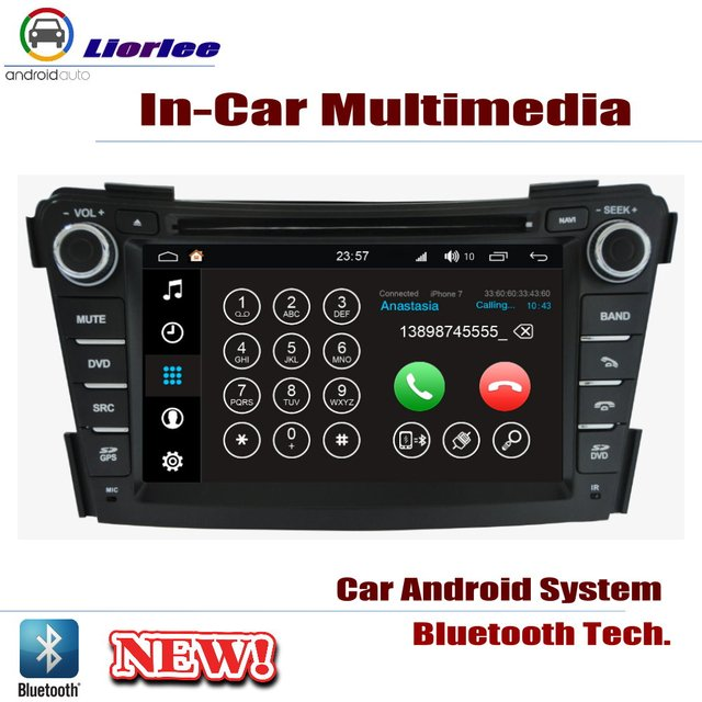 Lecteur DVD de voiture pour Hyundai i40 2011 ~ 2019 IPS écran LCD Navigation GPS système Android Radio Audio vidéo stéréo 4