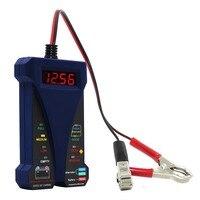MOTOPOWER Dark Blue12V Smart Digital Battery Tester Voltmeter Alternator Analyzer With LCD And LED Display For