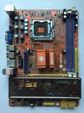 Подержанные оригинальная для Soyo SY-I5G41-L DDR2/DDR3 775-контактный G41 был установлен G41 материнская плата (версия/посланы вкривь и вкось)