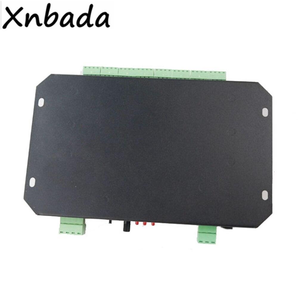 M 8000 Programable 8096Piexl Led controlador de música para WS2812B WS2812 SK6812 Led cinta de tira de luz entrada DC5V - 5