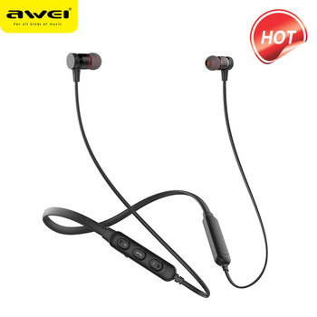 AWEI G10BL Sports Bluetooth Earphone Headphone 3D Stereo Earphone With Mic Noise Cancelling Headset  Fone de ouvido Bluetooth