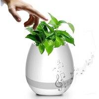 Creative Pots Smart Music Flower Pots Plastic Flower Music Pot Bluetooth Speaker