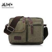 2016 High Quality Multifunction Men Canvas Bag Casual Travel Bolsa Masculina Men Messenger Bags Men S
