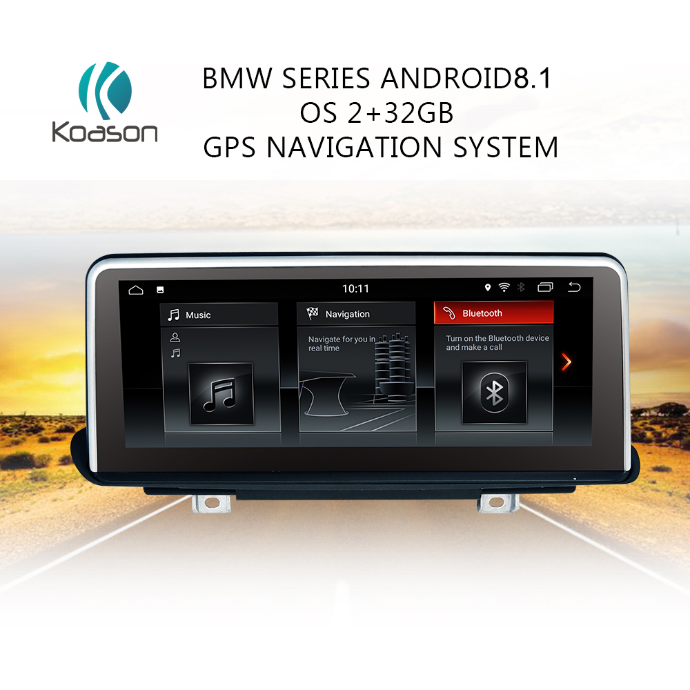 Koason 10 25 quot Touch Android 8 1 GPS Navigation for BMW X5 F15 X6 F16 2014 2017 Intelligence Car Audio Video Multimedia Player in Vehicle GPS from Automobiles amp Motorcycles
