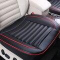 Автомобильное сиденье Audew без спинки  чехол из искусственной кожи с защелкой  подушка для автомобильного сиденья  защитный нескользящий чех...