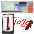 Front Outer Glass Lens Black for Nokia Lumia 1020 Loca UV LCD Glue and UV Light Screen Replacement