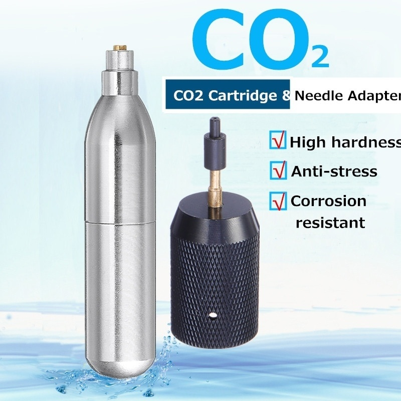 Capsule Cartridges Refill Gas-Cylinder Airgun Shooting Paintball Airsoft 12g Co2 Rechargeable