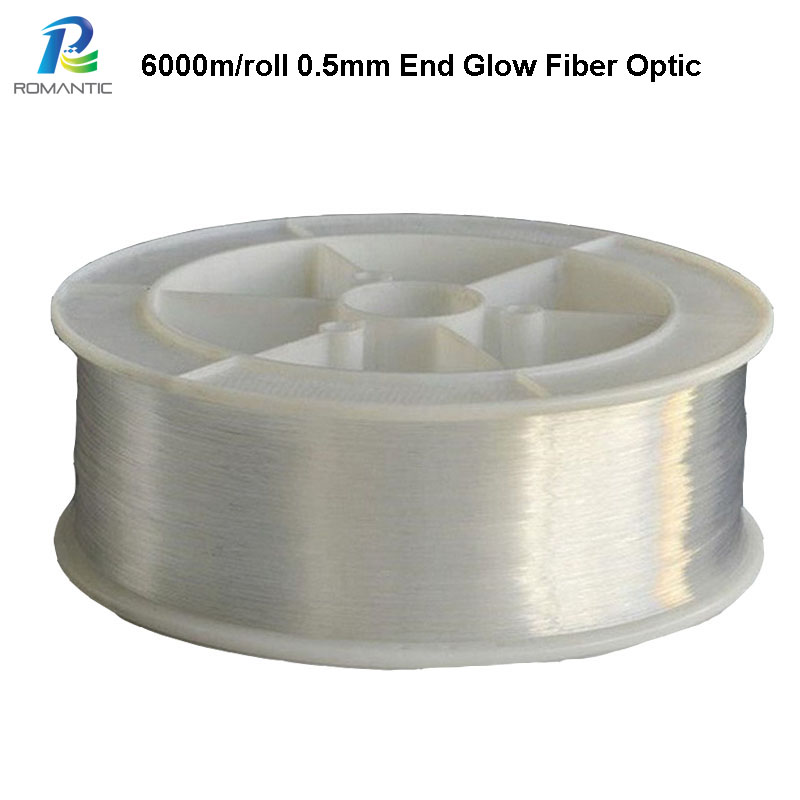 buy led fiber optic light strands 6000m roll plastic grow fibra optical. Black Bedroom Furniture Sets. Home Design Ideas