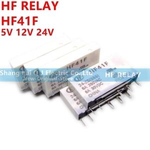Image 2 - HF relay HF41F 24 ZS HF41F 12 ZS HF41F 5 ZS (555) 6A 1CO HF41F 5V 12V 24V Wafer relay new and original