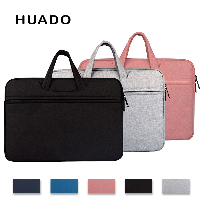 Casual laptop men portfolio 15.6 13.3 11.6 notebook briefcase bags for women 14 PC cover bag for mi notebook air/mac pro15/asus