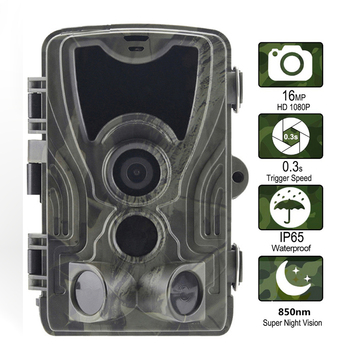 Goujxcy HC-801A Hunting Camera night vision infrared leds 1080p Trail forest Photo traps Scout waterproof wild camera - discount item  28% OFF Hunting