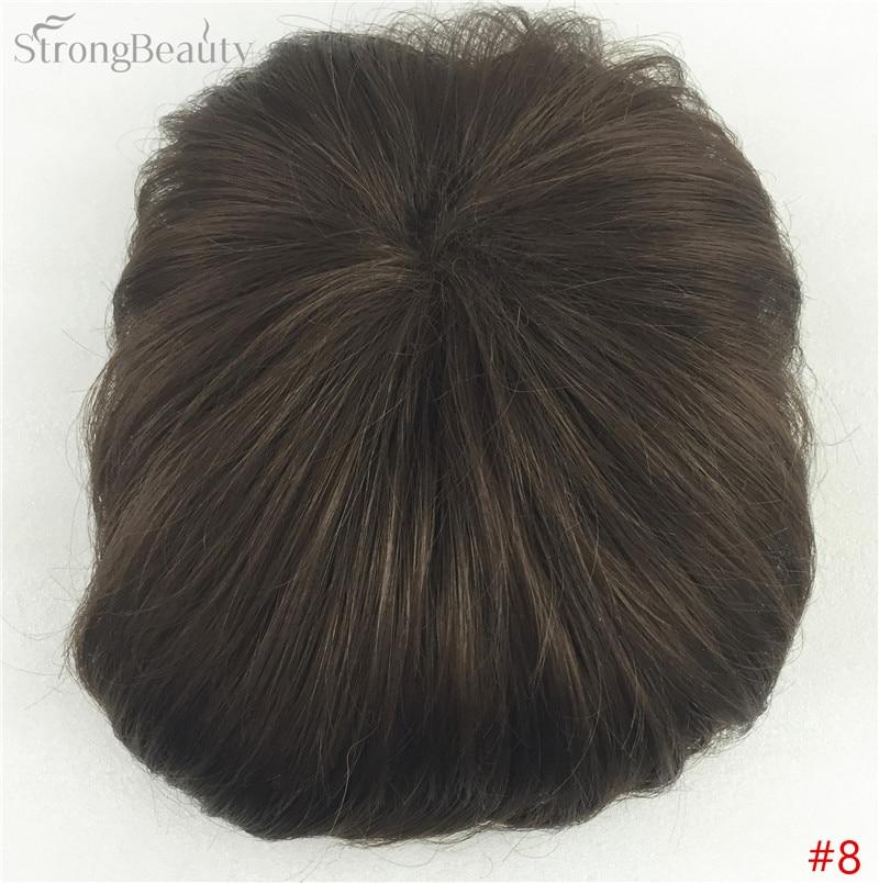 Сильная красота парик синтетические волосы парик выпадение волос топ кусок парики 36 цветов на выбор - Цвет: #8