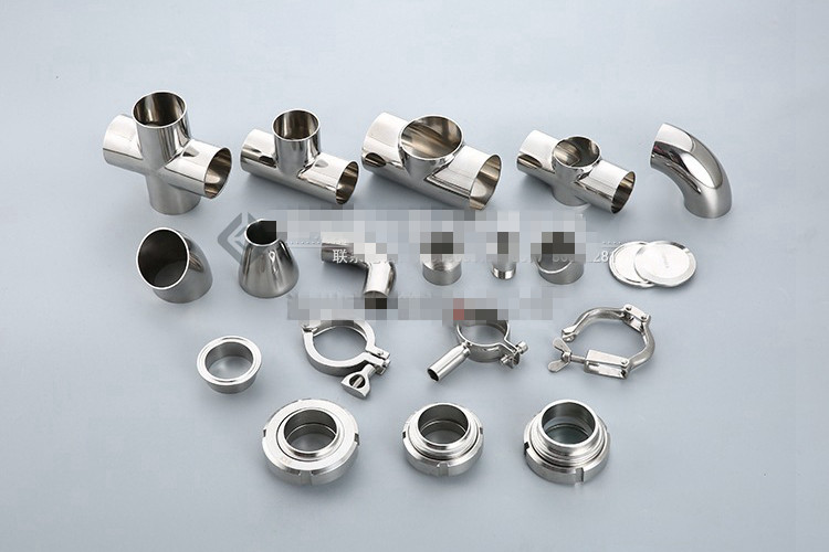 1PCS 51mm-2 Sanitary Full Port Ball Valve Clamp Type Ferrule SS304 1 5 sanitary stainless steel ss304 y type filter strainer f beer dairy pharmaceutical beverag chemical industry