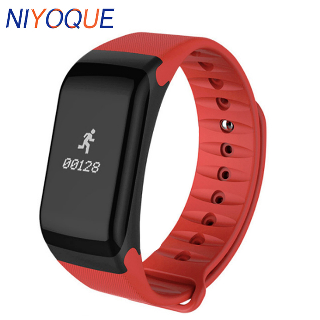 F1 Smart Bracelet Alarm Clock Heart Rate Monitor Fitness Tracker Step Counter Band Wristband For Iphone Xiaomi Huawei