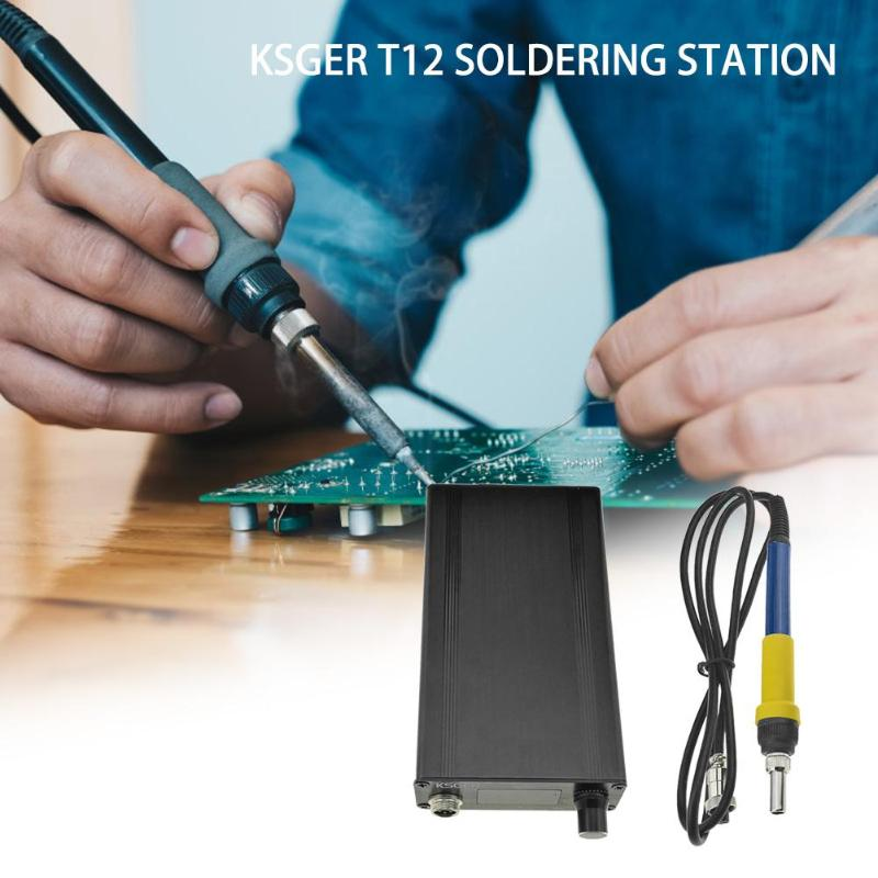 KSGER T12 Soldering Station DIY Kit STM32 V2.1S OLED Temperature ControllerKSGER T12 Soldering Station DIY Kit STM32 V2.1S OLED Temperature Controller