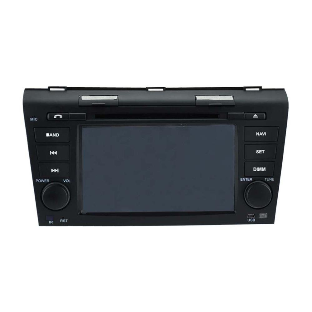 For 7 Quad core android 5 1 Mazda 3 2004 2008 Car DVD player GPS Tape