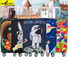 Brand Elastic Travel Luggage Cover Animal Printing Protective Suitcase Cover Trolley Case Thickening Dust Cover For