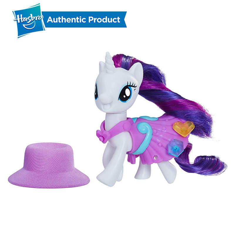 Hasbro 내 작은 조랑말 우정의 학교 희귀 별빛 반짝임 Applejack 액션 피규어 수집 모델 어린이 선물 인형