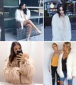 Женщины Зимняя Мода Искусственного Меха С Длинным Рукавом Твердые Куртка Теплое Пальто Верхняя Одежда