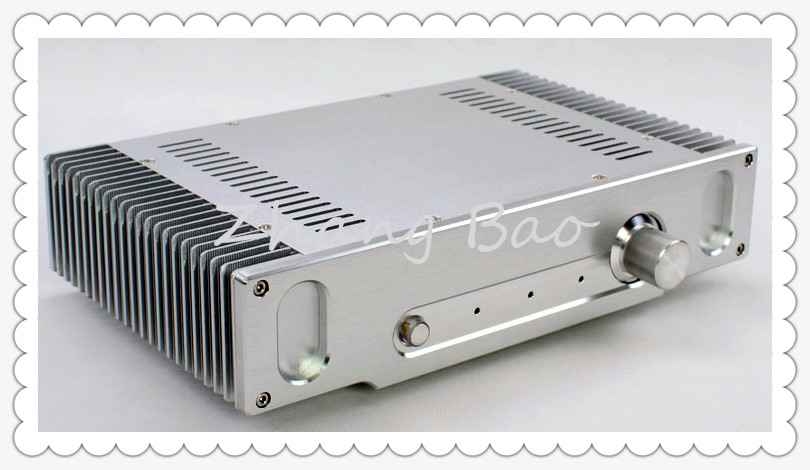 WA55 Amplifier Aluminum Chassis Enclosure Box Case Shell for Audio AMP wa19 aluminum chassis pre amplifier chassis enclosure box 313 425 90mm