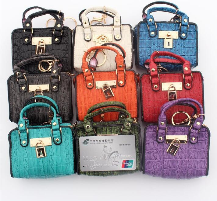Fashion Mini Handbag Model Change Purse Lady Key Card Holder Female Money Small Handbags Coins Bag New