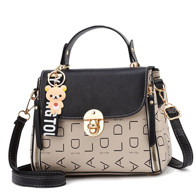 Popular Woman Handbags Fashion Leather Messenger Bag Trendy new one-shoulder diagonal small square bag Bolsa Feminina louis gg 45