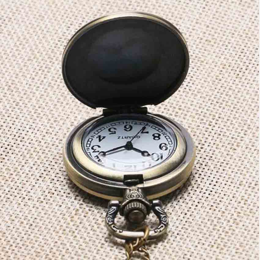 Undertale Sans Bad Time Game Gaming Fashion Necklace pocket watch brass silver Pendant steampunk Jewelry for women chain toy men