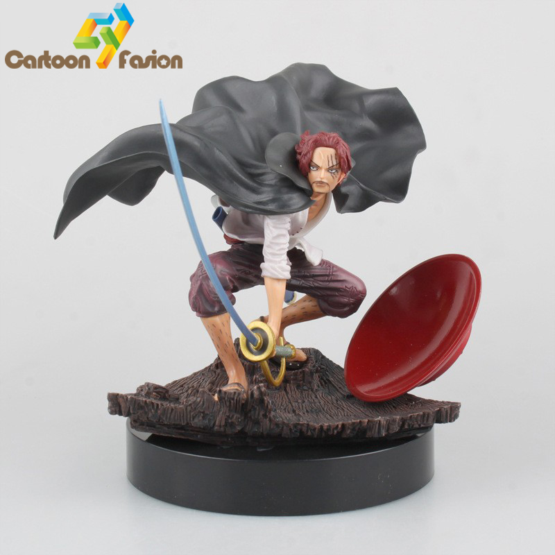 One Piece Shanks 5th Version Action Figure Onepiece Akakami No Shankusu Doll PVC ACGN Figures Brinquedos
