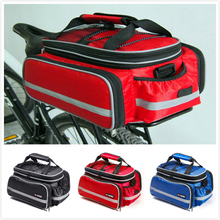Hurricane 25L Bicycle Carrier Bag Rear Rack Bike Trunk Bag Luggage Pannier Back Seat Double Side Big Capacity Cycling Bag