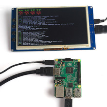CAA-7″ TFT LCD 800*480 Touch Screen Display for Raspberry Pi 2 DE